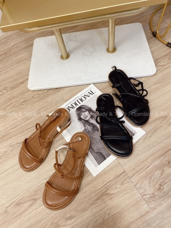 【Z822190】百搭舒適平底涼鞋