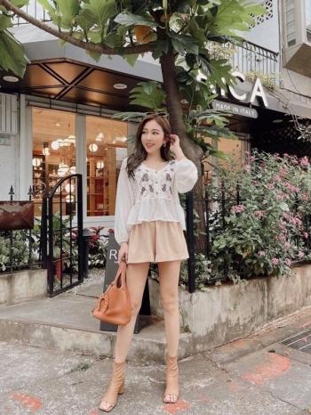 【Z822250】簡約純色彈性短褲