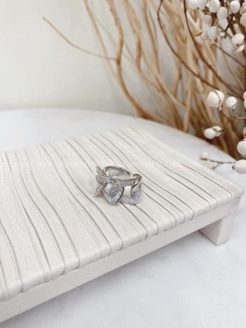 【Z822277】鑲鋯石輕奢感戒指
